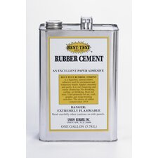 Rubber Cement 1 Gallon Can