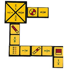 <strong>Wiebe Carlson Associates</strong> Fraction Dominoes Game