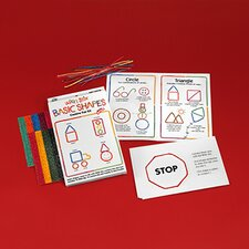 <strong>Wikki Stix</strong> Wikki Stix Basic Shapes Kit