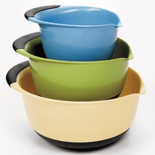 <strong>OXO</strong> 3 Piece Mixing Bowl Set - Plastic (Asst)