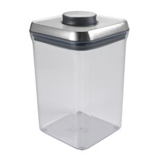 4-Quart / 3.8 Litre Steel Big Square Pop Container
