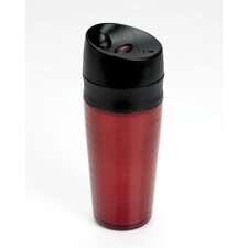 Liquiseal Travel Mug - Plastic (Textured) - Red
