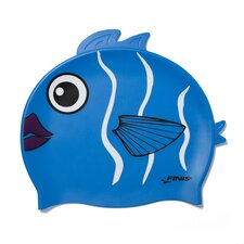 Youth Animal Head Silicone Fun Swim Cap