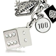 Las Vegas Welcome Sign Dice Keychain