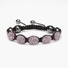 Shamballa Oval Bracelet