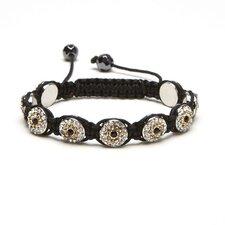 Shamballa Evil Eye Crystal Bracelet