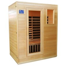 <strong>Great American Sauna Company</strong> GASC 3 Person Carbon FAR Infrared Sauna