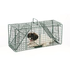 <strong>Pentagon</strong> Green Dual Door Live Animal Pet Trap / Cage