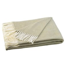 Italian Herringbone Cotton Throw Blanket