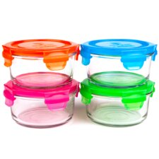 Garden Pack Lunch Bowls (Set of 4)