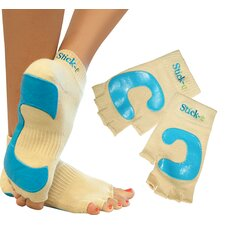<strong>Stick-E Yoga</strong> Socks and Gloves Combo with DVD