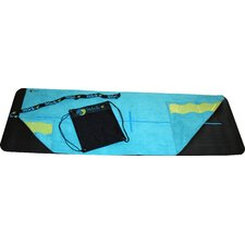 Deluxe Hot Yoga Towel in Blue