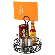 Scroll Condiment Stand