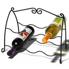 Scroll 6 Bottle Wine Rack