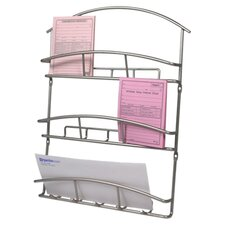 Euro Wall Mount Letter Open Filing Unit