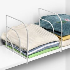Closet Organization Over The Shelf Divider (Set of 2)