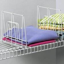 Closet Organization Ventilated Shelf Divider