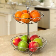 Leaf 2-Tiered Stand