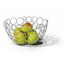 "Circles 12.75"" Fruit Bowl"