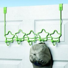 Stars Over-the-Door Coat Rack