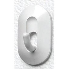 <strong>Spectrum Diversified</strong> Magnetic Classic Hook in White (Set of 2)