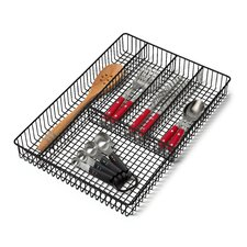 "Grid 11.25"" W x 16.0"" D Flatware Tray"