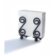 Scroll Design Napkin Holder