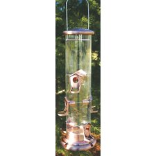 <strong>Audubon/Woodlink</strong> Mega Tube Feeder in Brown