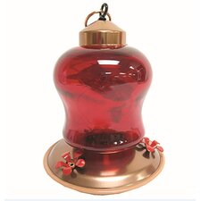 Mini Hummingbird Feeder in Red