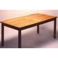 Teakwood Rectangle Bristol Table