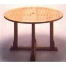<strong>Royal Teak by Lanza Products</strong> Teakwood Cambridge Round Dining Table
