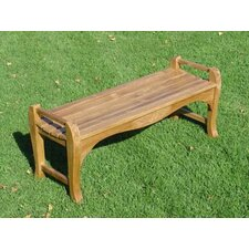 <strong>Royal Teak by Lanza Products</strong> Teak Garden Bench