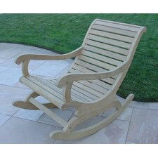 <strong>Royal Teak by Lanza Products</strong> Roble Wood Rocking Chair