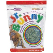 Zoo Vital Jr Bunny Growth Rabbit Food - 1.5 lbs