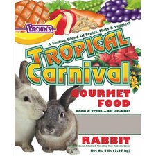 Tropical Carnival Rabbit Food - 5 lbs