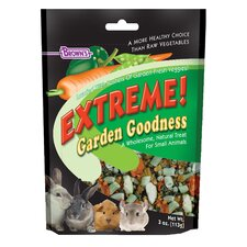Extreme Garden Goodness Treats for Small Pet - 3 oz.