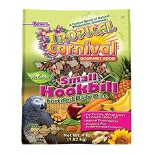 Tropical Carnival Natural Parrot Food - 3.5 lbs
