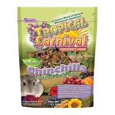Tropical Carnival Natural Chinchilla Food - 3 lbs