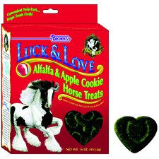 Luck and Love Alfalfa and Apple Horse Treat