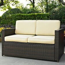 <strong>Crosley</strong> Palm Harbor Loveseat with Cushions