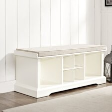 Brennan Wood Entryway Storage Bench
