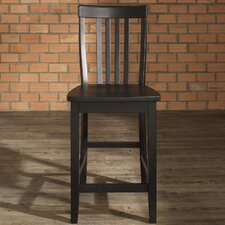"School House 24"" Bar Stool (Set of 2)"