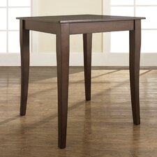 <strong>Crosley</strong> Cabriole Leg Pub Table in Vintage Mahogany