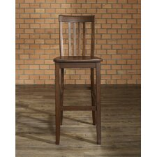 "School House 30"" Barstool in Mahogany"