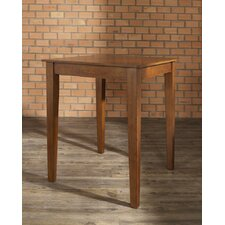 Tapered Leg Pub Table in Classic Cherry