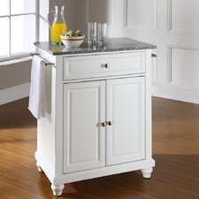 <strong>Crosley</strong> Cambridge Kitchen Island with Granite Top