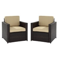 Loon Harbor 2 Piece Deep Seating Group with Cushions