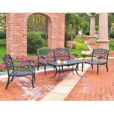 Sedona 3 Piece Cast Lounge Seating Group