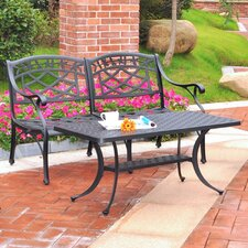 Sedona 2 Piece Cast Lounge Seating Group