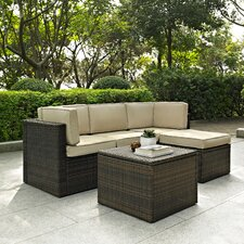 Palm Harbor 5 Piece Seating Group with Cushions